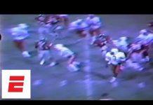 Video Barry Sanders high school football highlights [Rare video]   ESPN Archives
