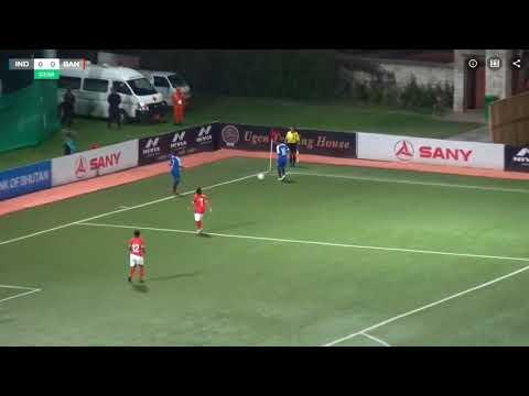 Video Bangladesh vs india saff final women's football  2018
