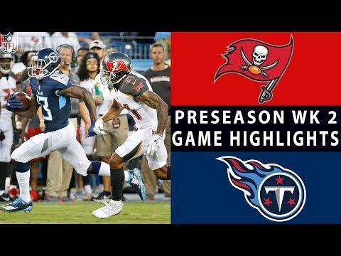 Video Buccaneers vs. Titans Highlights | NFL 2018 Preseason Week 2