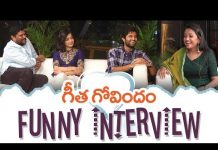 View Geetha Govindam Team Funny Interview | Vijay Deverakonda, Rashmika Mandanna, Parasuram