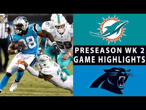 Video Dolphins vs. Panthers Highlights | NFL 2018 Preseason Week 2