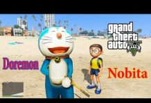 Xem GTA 5 Mod – Doremon chở Nobita Đi Khám Phá Hang Động Ma
