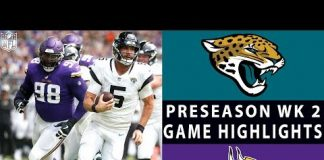Video Jaguars vs. Vikings Highlights | NFL 2018 Preseason Week 2