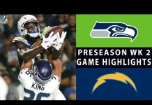 Video Seahawks vs. Chargers Highlights | NFL 2018 Preseason Week 2