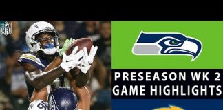 Video Seahawks vs. Chargers Highlights | NFL 2018 Preseason Week 2