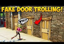 View NEW *FAKE DOOR* TROLL! – Fortnite Funny Fails and WTF Moments! #295