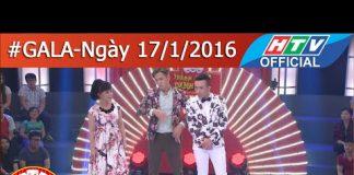 Xem HTV Thách thức danh hài Mùa 2 | Tập 12 Full HD | Gala 1 | TTDH 17/1/2016