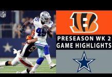 Video Bengals vs. Cowboys Highlights | NFL 2018 Preseason Week 2