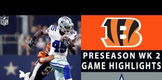 Video Bengals vs. Cowboys Highlights | NFL 2018 Preseason Week 2