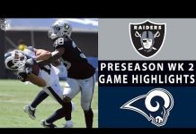 Video Raiders vs. Rams Highlights | NFL 2018 Preseason Week 2