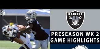 Video Raiders vs. Rams Highlights | NFL 2018 Preseason Week 2