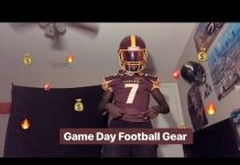 Video My Game Day Football Gear