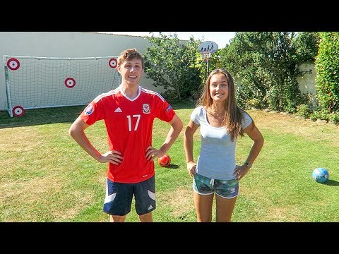 Video FORFEIT FOOTBALL vs MY SISTER