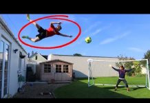 Video JUMPING OFF MY ROOF FOOTBALL CHALLENGE!!