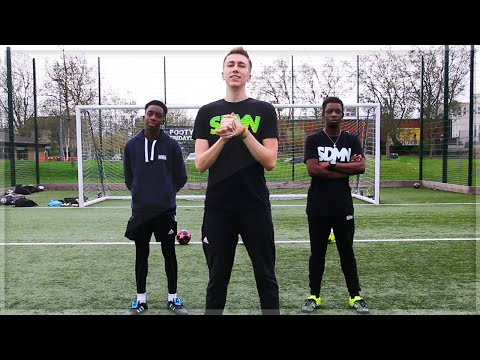 Video NO BOUNCE FOOTBALL CHALLENGE!!
