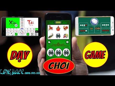 Xem Dạy chơi game bầu cua + tài xỉu + xóc đĩa trên điện thoại – HACK & QUY LUẬT BẦU CUA 2018 BỊP