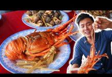 ĂN TÔM HÙM, HẢI SẢN ở đầm Ô Loan |Du lịch Phú Yên