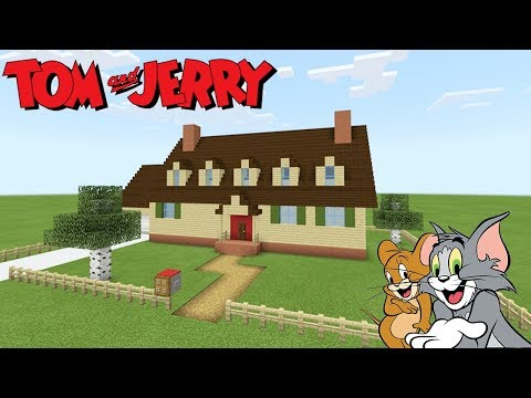 "Xem Minecraft Tutorial: How To Make Tom And Jerrys House ""Tom and Jerry"""