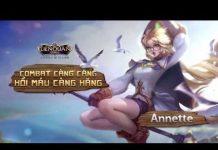Xem [Trailer] Annette: Combat càng căng, hồi máu càng hăng – Garena Liên Quân Mobile