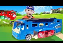 Xem Bé Cá và xe ô tô nhà di động 2 – đồ chơi trẻ em