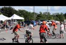 Video Unicycle Football
