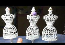 Xem Búp bê thiết kế thời trang/MANOCANH MINI/Xích đu mini/Tổ chim cho búp bê siêu xinh