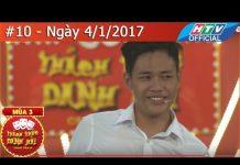 Xem HTV THÁCH THỨC DANH HÀI MÙA 3   TTDH #10   LÊ TẤN LỢI   4/1/2017