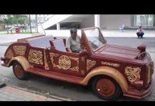 Xem Chuyện lạ đời – Siêu xe được làm bằng gỗ duy nhất tại Việt Nam