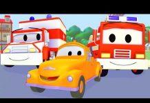 Xem Xe Cứu Thương, Xe Cứu Hỏa Và Tom – Chiếc xe tải kéo | Phim hoạt hình chủ đề xe hơi và xe tải xây dự