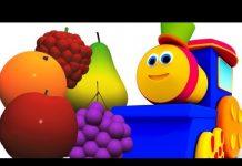 Xem Bob, chuyến tàu | học trái cây với bob | bài hát của trẻ em biên dịch trong tiếng việt