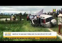 Xem Tai nạn giao thông giữa tàu SE8 với xe ô tô 7 chỗ tại Nghệ An   HANOITV
