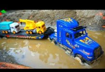 Xem Car Toys Kids | Excavator Truck For Children | Vehicles in Construction