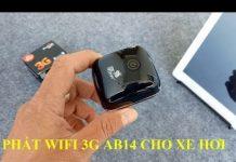 Xem Phát Wifi Di Động 3G AB14 Cho Xe Hơi – Zalo: 0907 187 845