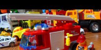 Xem Lego – lắp xe ô tô cứu hỏa lego – Fire truck lego assembly – Twinkle Twinkle Little Star song