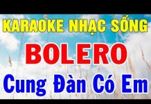 Xem Karaoke Nhạc Sống Rumba – Trữ Tình – Hòa Tấu | Liên Khúc Bolero Nhạc Vàng | Trong Hiếu