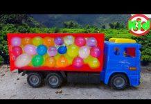 Xem 🚛 Xe ô tô xuất hiện bất ngờ trong bóng nước 🚛 đồ chơi trẻ em A828B Kid Studio 🚛