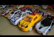 Xem Police car team in interal Festival Đội xe ô tô cảnh sát đồ chơi trẻ em thi đua Kid Studio