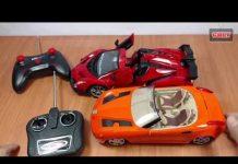 Xem đồ chơi Xe hơi điều khiển từ xa , đua xe với cu tũn car toy remote control for kids