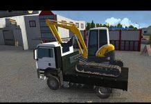 Xem Trò Chơi Bác Công Nhân Lái Xe Ô tô Và Máy Xúc Excavator toy for kids P1