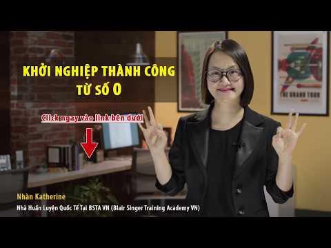 Xem Khóa học Khởi nghiệp thành công từ số 0   GV. Nhàn Katherine   Khóa học Online