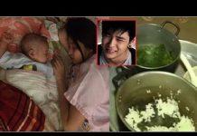 Xem Chạy Xe 3 Tiếng Về Ăn Bữa Cơm Với Vợ Mới Sinh, Chồng Nghẹn Ngào Khi Thấy Mâm Cơm Của Em và Sự Thật