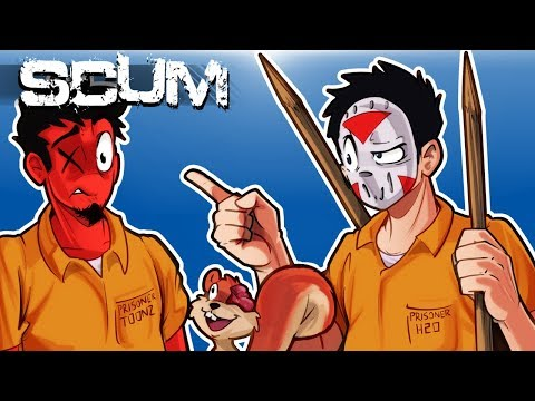 """View SCUM – HOW """"NOT"""" TO SURVIVE IN A SCUMMY WORLD! (Funny Moments) Ep. 2"""