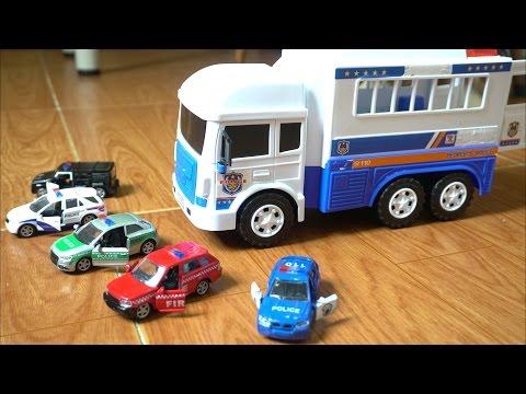 Xem Police car toys for kids Xe ô tô cảnh sát chở tội phạm – đồ chơi trẻ em T3 Kid Studio