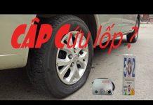 Xem cách vá lốp ôtô con đơn giản không cần tháo lốp nhanh nhất vn
