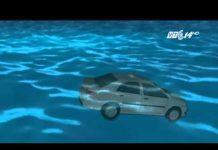 Xem (VTC14)_Thoát thân khi xe ô tô rơi xuống nước