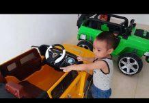 Xem Gia Linh và em Cò tập lái xe Ô tô em Cò đòi lái chính