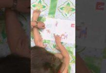 Tiếng Việt Mới – Đọc chữ bằng ô vuông – công nghệ giáo dục