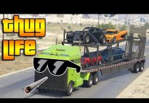 View GTA 5 ONLINE : THUG LIFE AND FUNNY MOMENTS (WINS, STUNTS AND FAILS #35)
