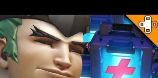 View GREEN GENJI NEEDS HEALING BADLY! Overwatch Funny & Epic Moments 593