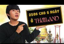 DU LỊCH THÁI LAN: 5 TRIỆU CHO 6 NGÀY | THAILAND TRAVEL DIARY| ĐI CHƠI CÙNG WOOSSI